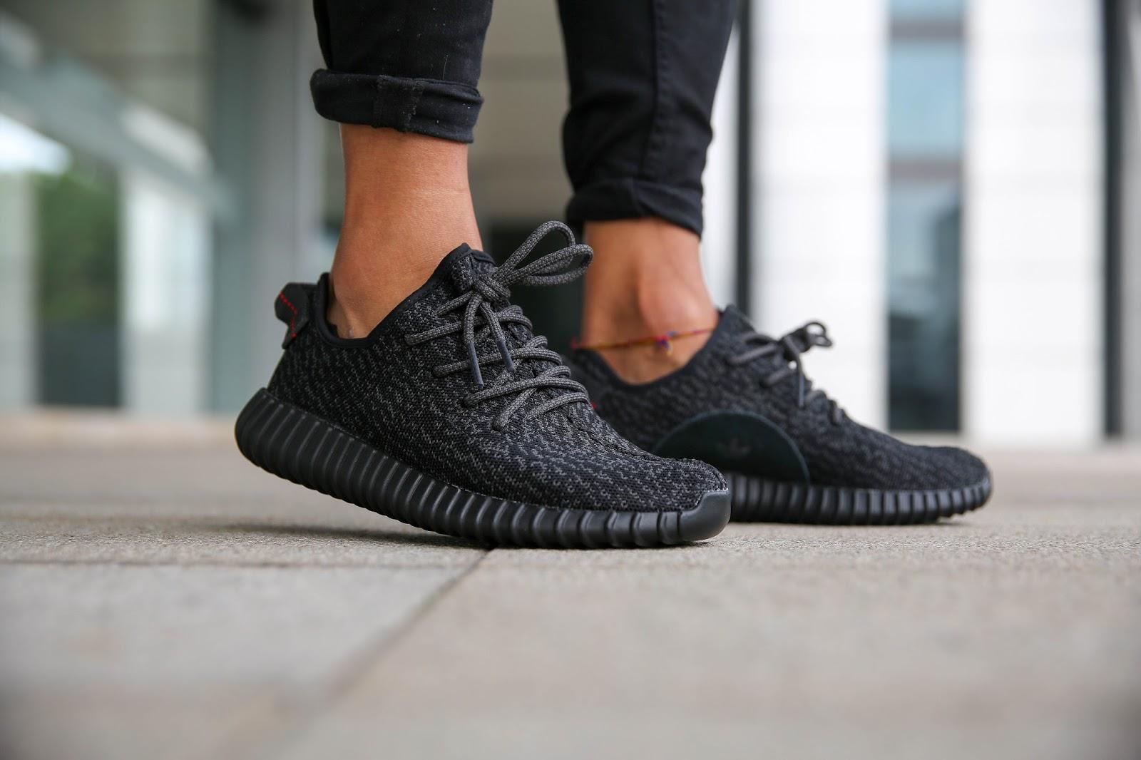 Jual Sepatu Adidas Yeezy Boost 350 Pirate Black - Everlasting Sport ... d9e174b696