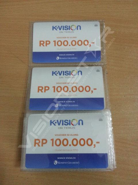 Voucher Kvision Rp 100.000