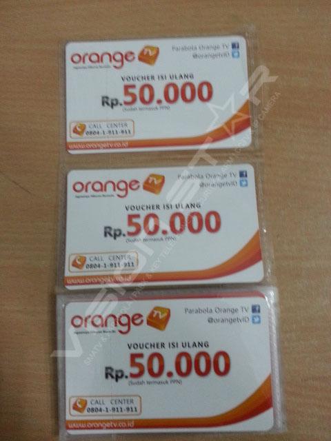 Voucher Orange TV Rp 50.000