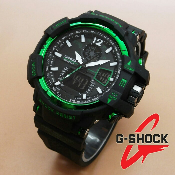 G-Shock GWA 1100 Black White