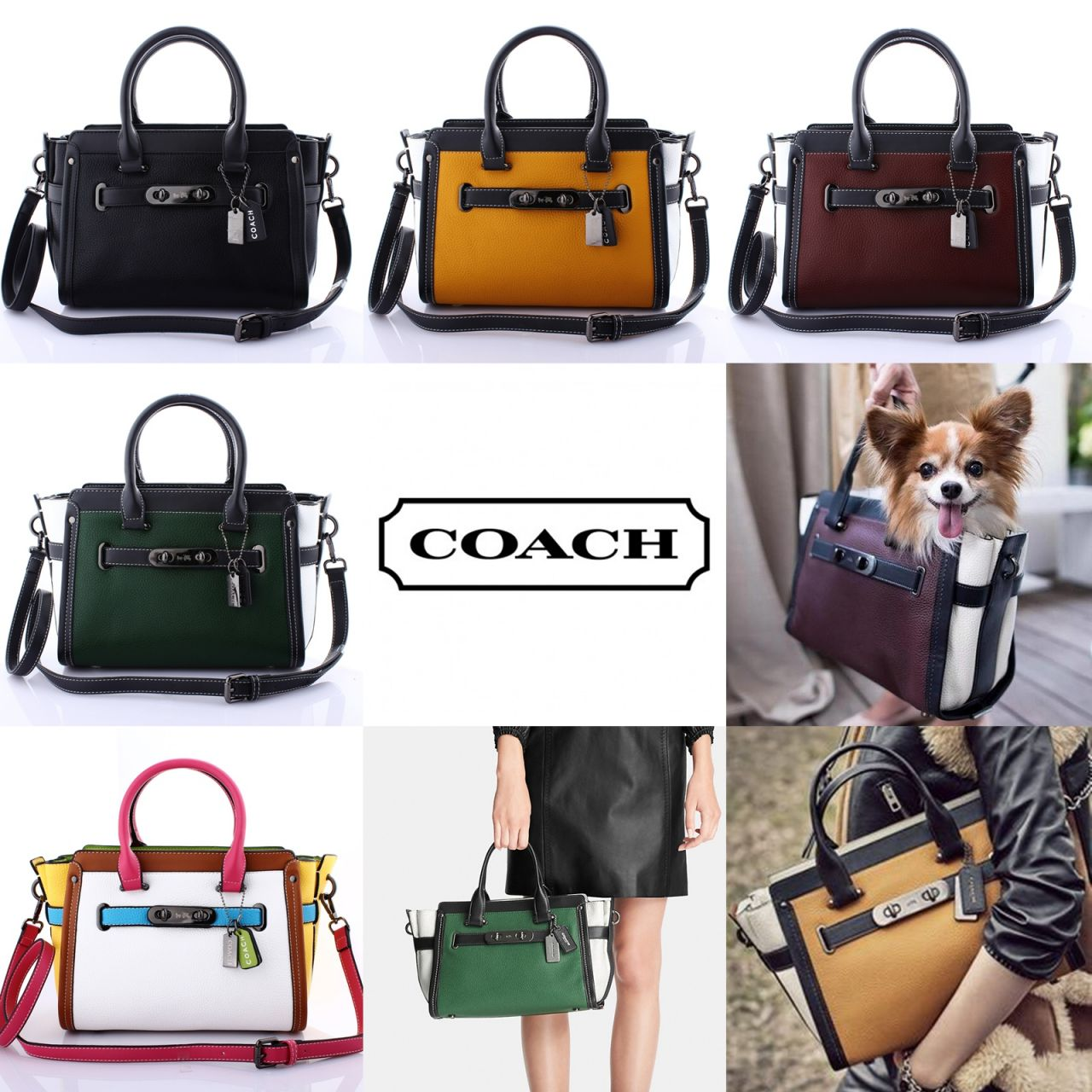Jual Ready Stock!! COACH Swagger Large  3002-2 - Tas Branded ... 781532b625