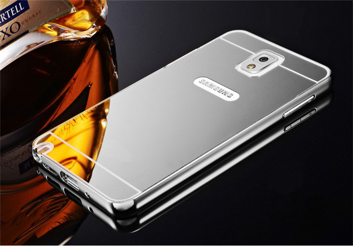 watch 5a96c 0e647 Free Tempered Glass Case Samsung Galaxy Note 3 Casing Mirror ...