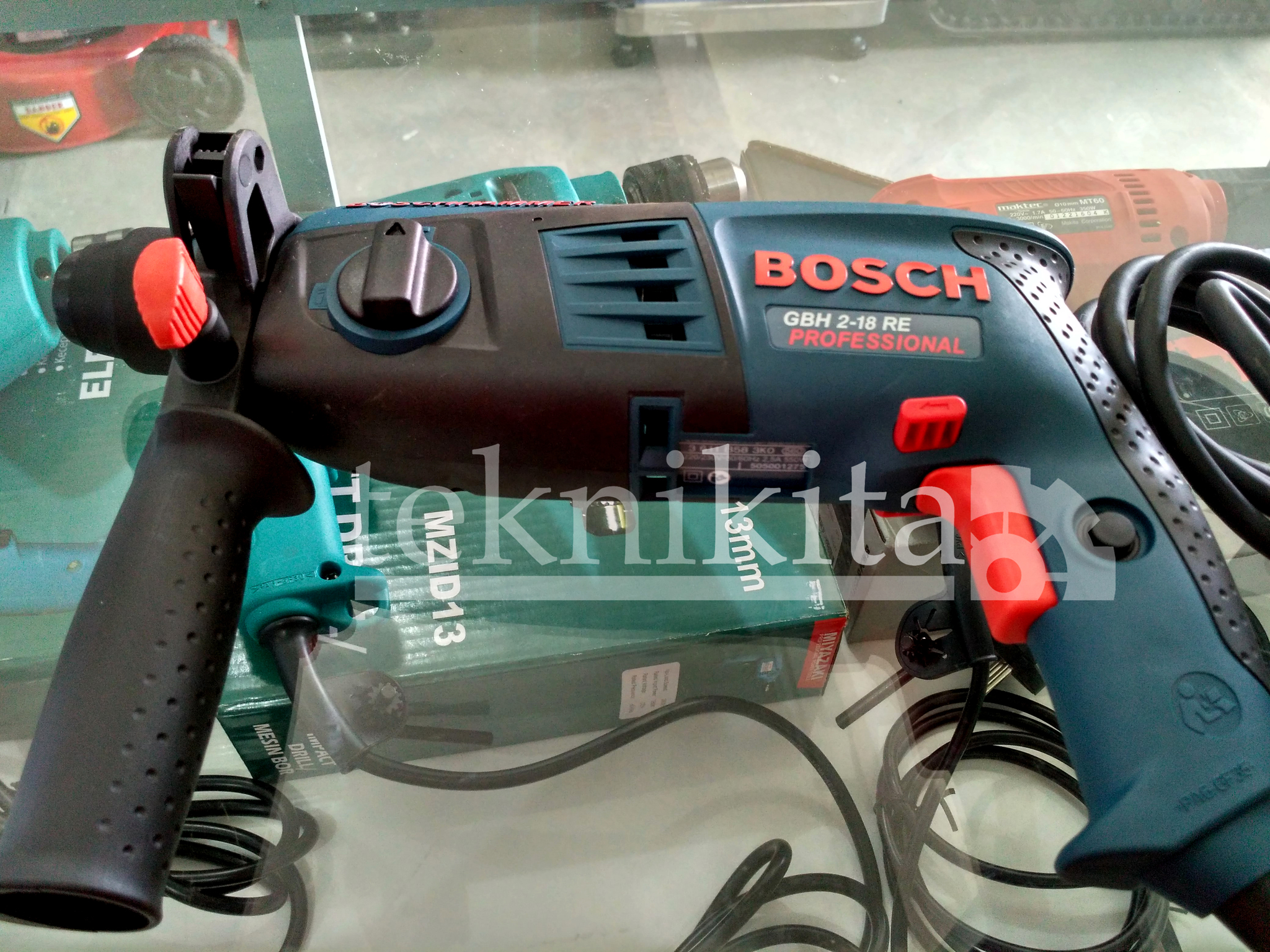 "Mesin Bor Beton Rotary Hammer Bosch GBH 2-18 RE ""ASLI ORIGINAL MURAH"""