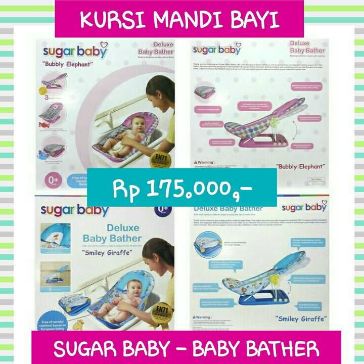 Jual SUGAR BABY DELUXE BABY BATHER 100% ORIGINAL - HADIAH KURSI MANDI BAYI - GALERIA SHOP | Tokopedia