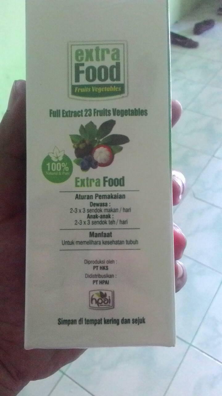 2 Paket Hpai Extra Food Suplemen Nutrisi Buah Dan Sayur Review Extrafood Harga Daftar Source Jual