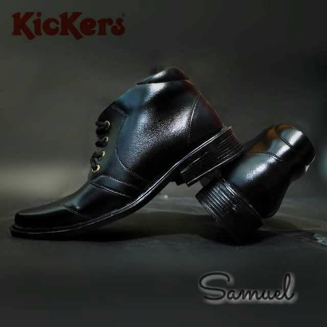 sepatu kerja kantoran pantofel kickers samuel