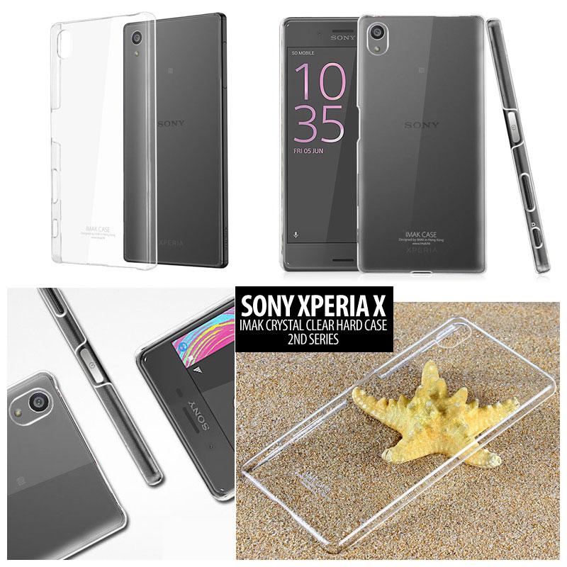 Jual Sony Xperia X Imak Clear Hard Back Case Cover Casing Bening Transparan - Forsakey Gadget