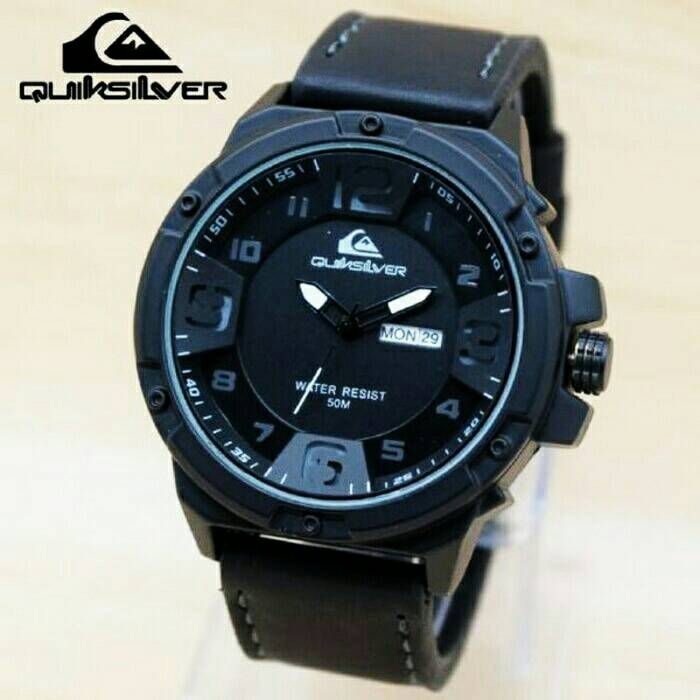 Jam Tangan Pria Quicksilver Premium Dark Brown