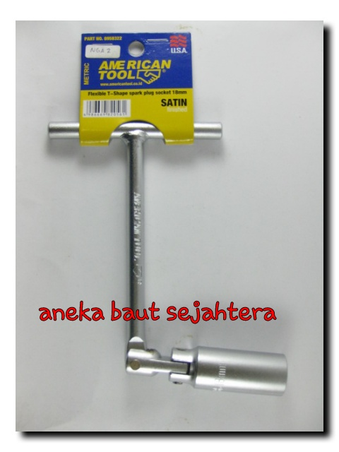 Kunci Busi 18mm American Tool
