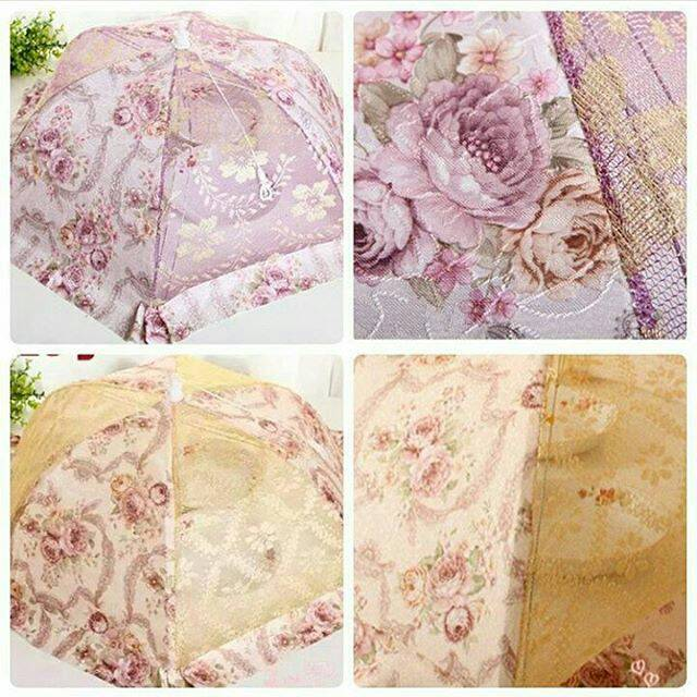 Shabby Lace Dishes Cover / Tudung Saji - Blanja.com