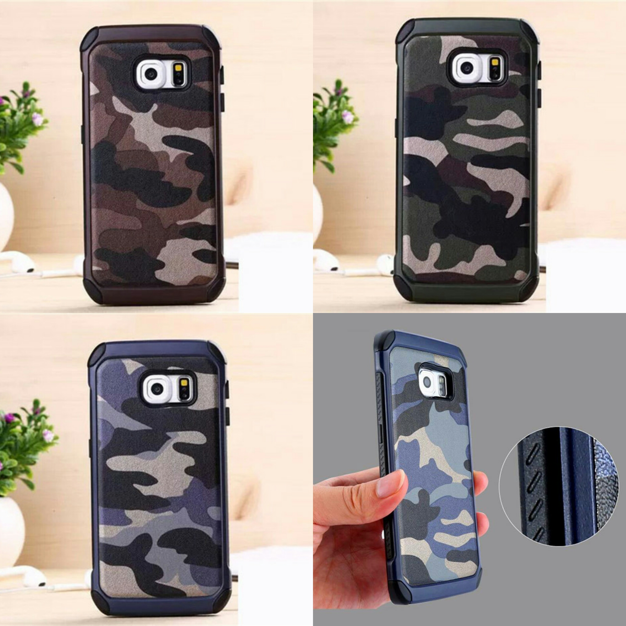 Jual Casing Hp Samsung Galaxy S6 S7 S6 Edge S7 Edge S6 Edge Plus Army Case The Villains Shop