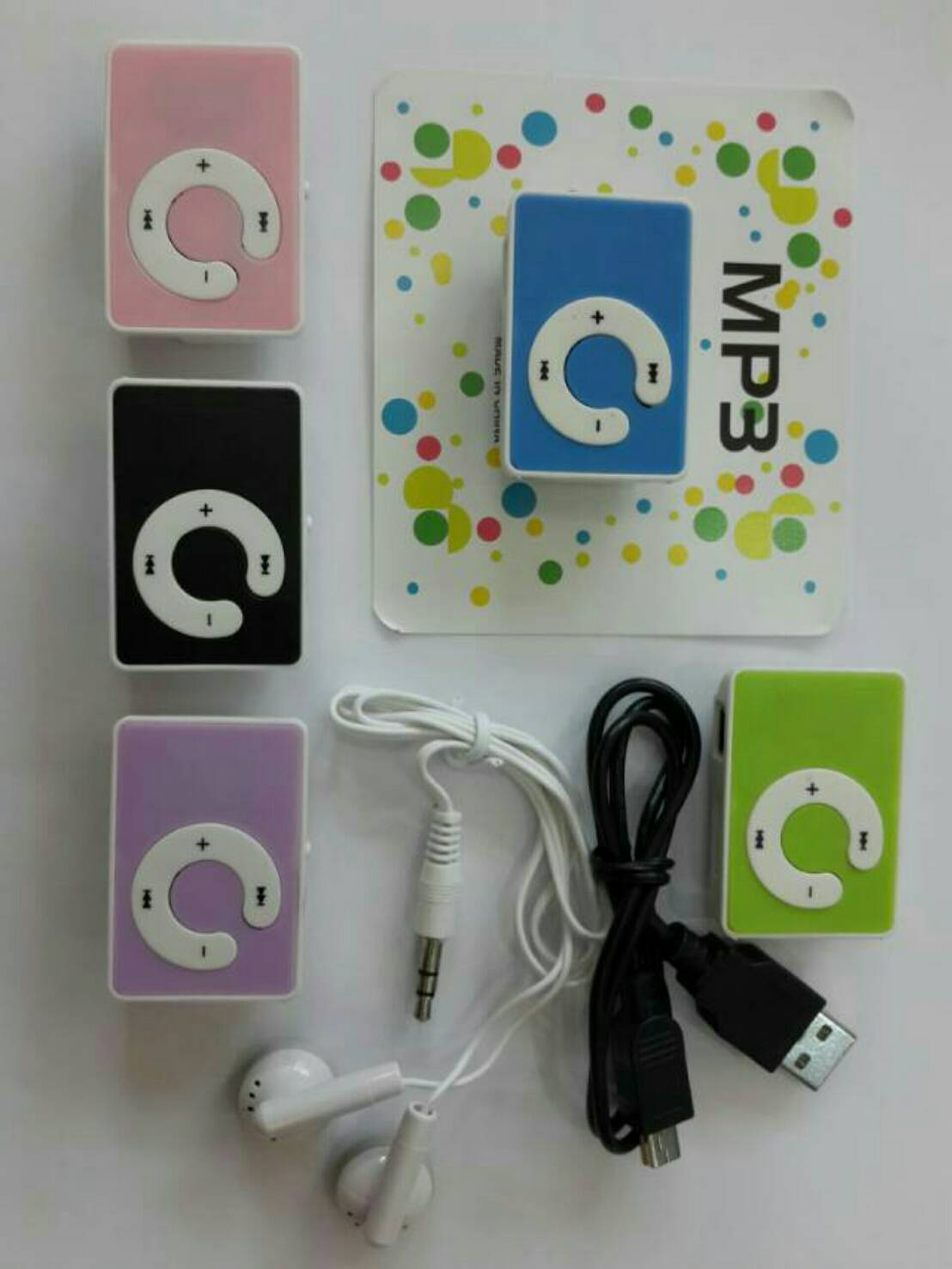 Mp3 Mini Music Player / Mp3 Jepit Shuffle - Slot Memory Micro SD