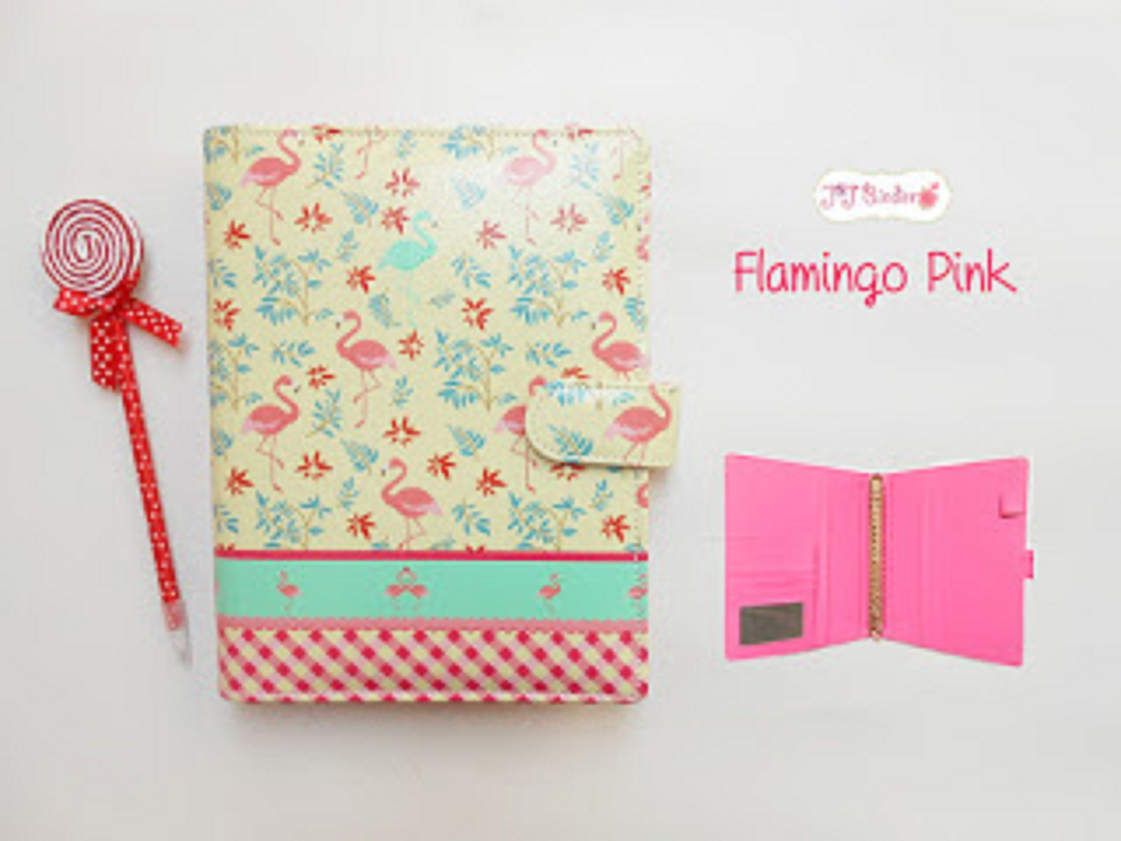 Jual Binder Flamingo Pink - Kota Tangerang Selatan