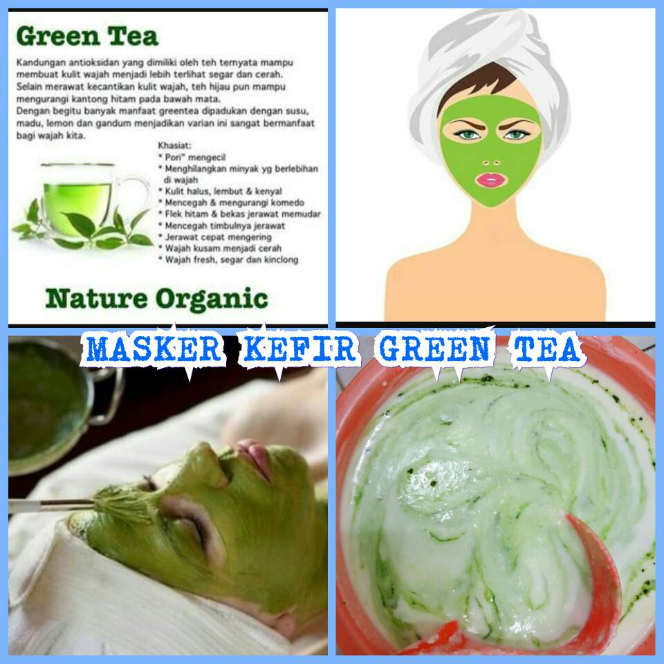 Masker Kefir Kunyit Kemasan Sashet Per Box 10 Sachet WIKIPRICE Source · Kefir Masker Green Tea