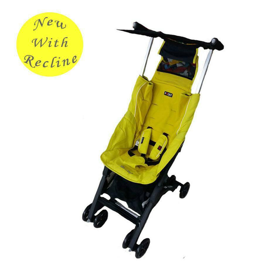 stroller Cocolatte Pockit 789 Tote Bag Yellow Murah
