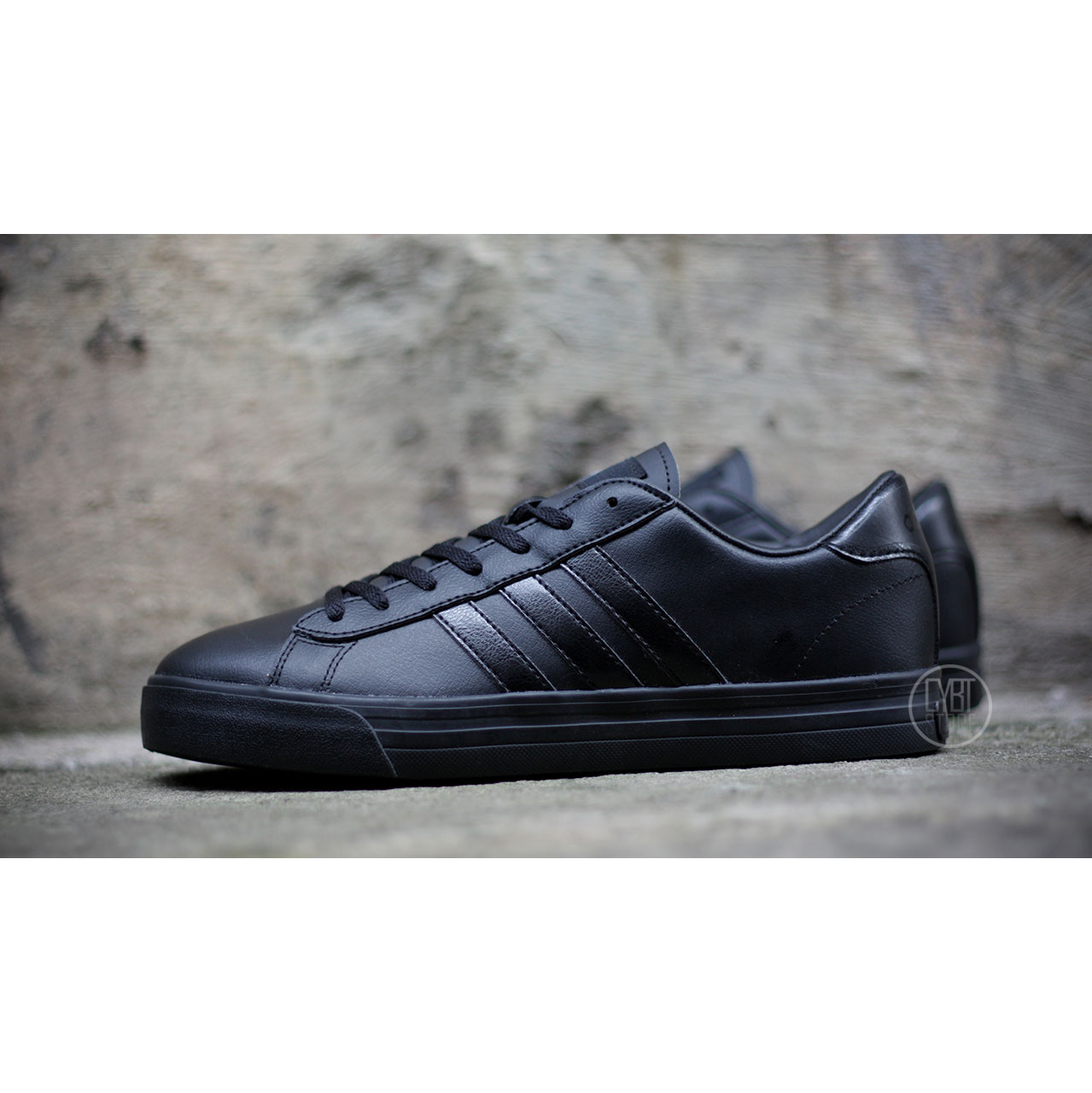 adidas cloudfoam super daily black