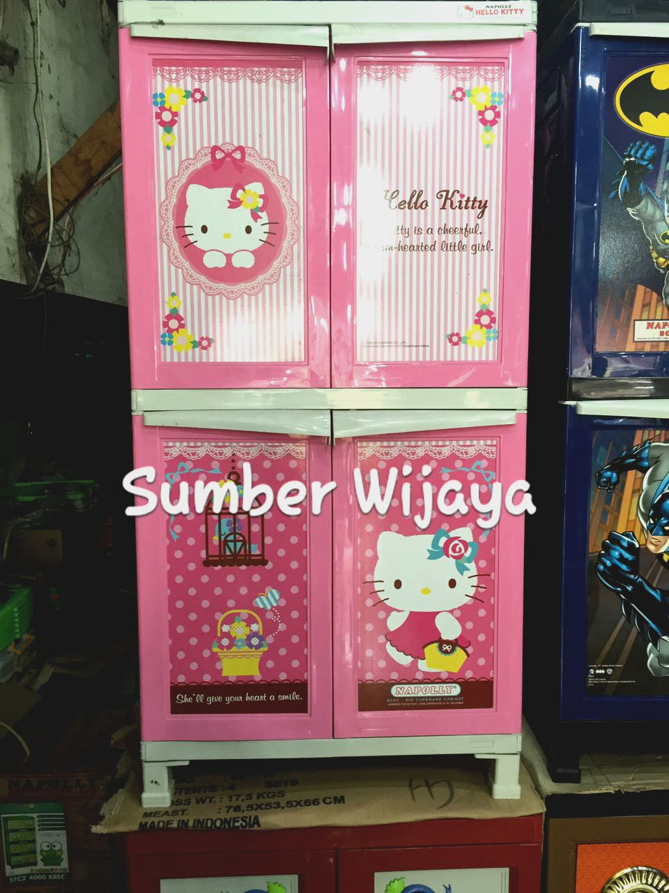 Napolly Lemari 3 Susun Hello Kitty Pink Muda Daftar Harga Terbaru Pakaian Page Source Jual