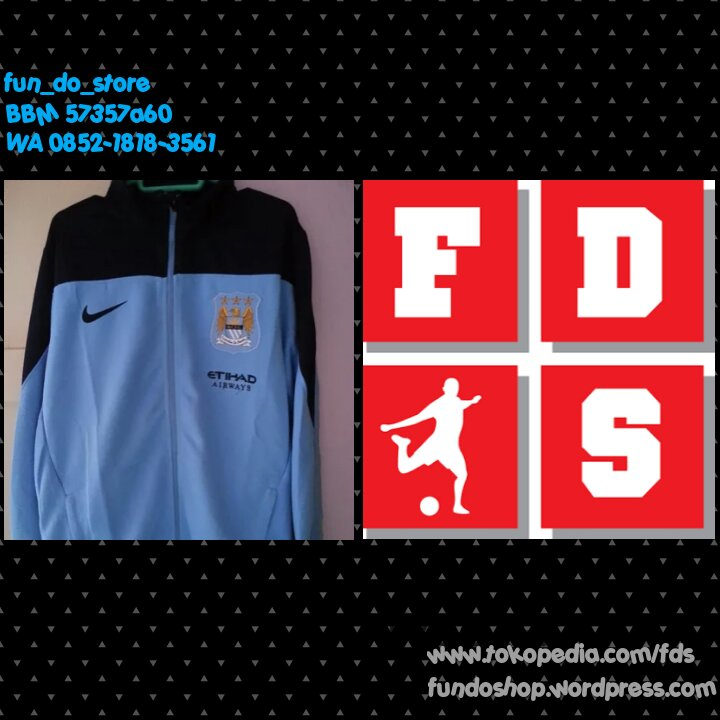 Jaket Training Man. City 2013/2014 - Blanja.com
