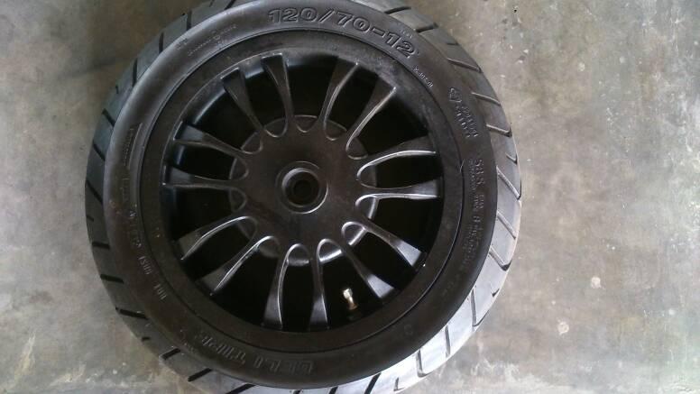Jual Velg Vespa Sprint 150 Dhan S Garage Tokopedia