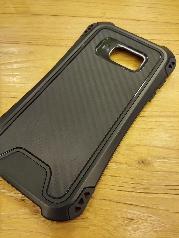 Samsung Galaxy S8 Shift Carbon Rugged Armor Case - Heavy Duty
