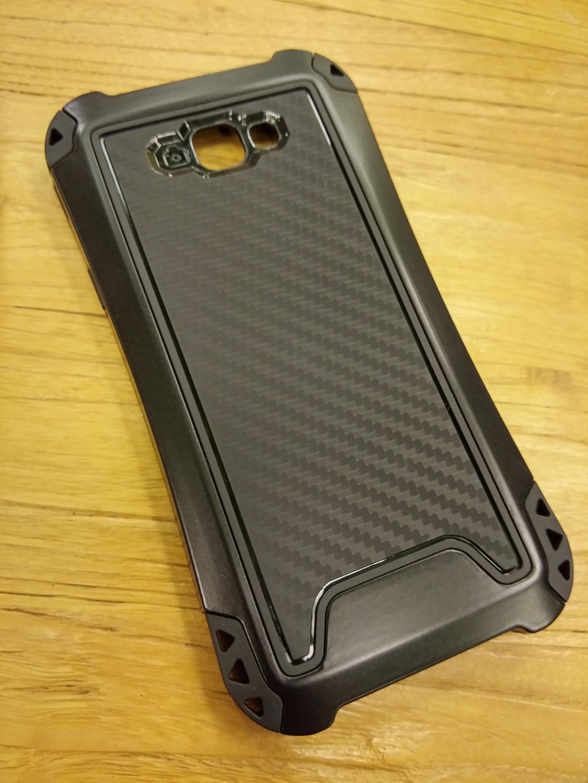 Samsung Galaxy A3 2017 Shift Carbon Rugged Armor Case - Heavy Duty