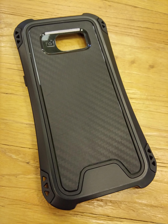 Samsung Galaxy S7 Flat Shift Carbon Rugged Armor Case - Heavy Duty