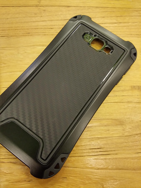 Samsung Galaxy A7 2017 Shift Carbon Rugged Armor Case - Heavy Duty