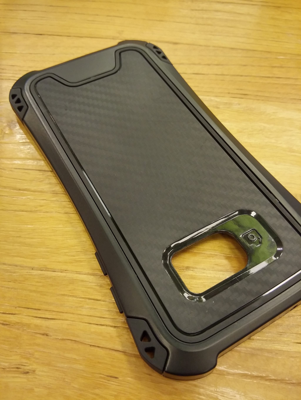Samsung Galaxy Note 8 Shift Carbon Rugged Armor Case - Heavy Duty