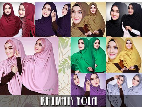 Yola Sequin – Jilbab Hijab Syar'i Kerudung Khimar