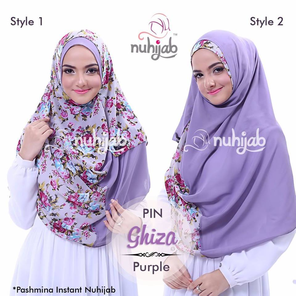 BEST SELLER Pashmina Instant Nuhijab GHIZAS BEST QUALITY