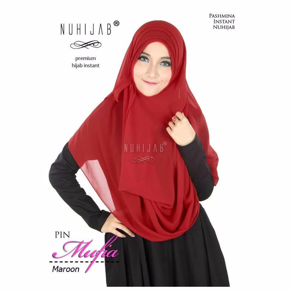 BEST SELLER PIN Mufia Nuhijab BEST QUALITY