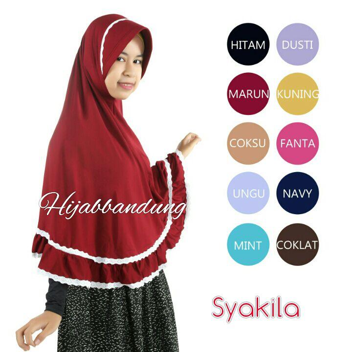 Khimar Syakila Syar'i,Grosir Hijab,Hijab Syar'i