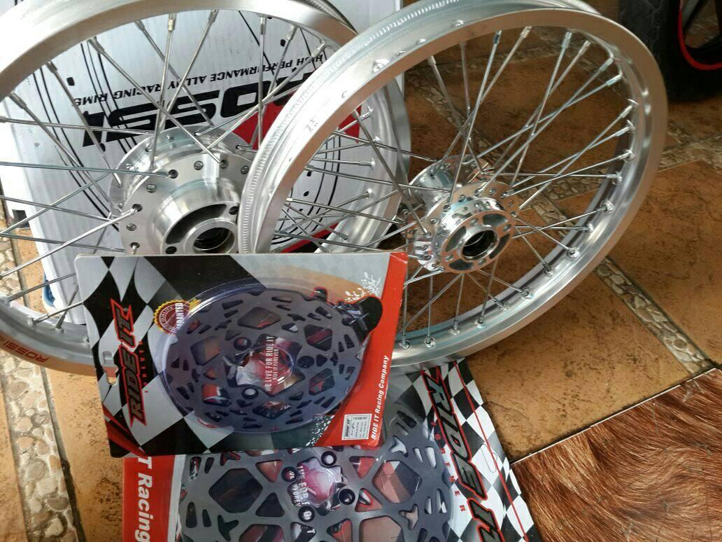 jual velg jari jari satria fu 150 vrossi - rama jaya motor | tokopedia