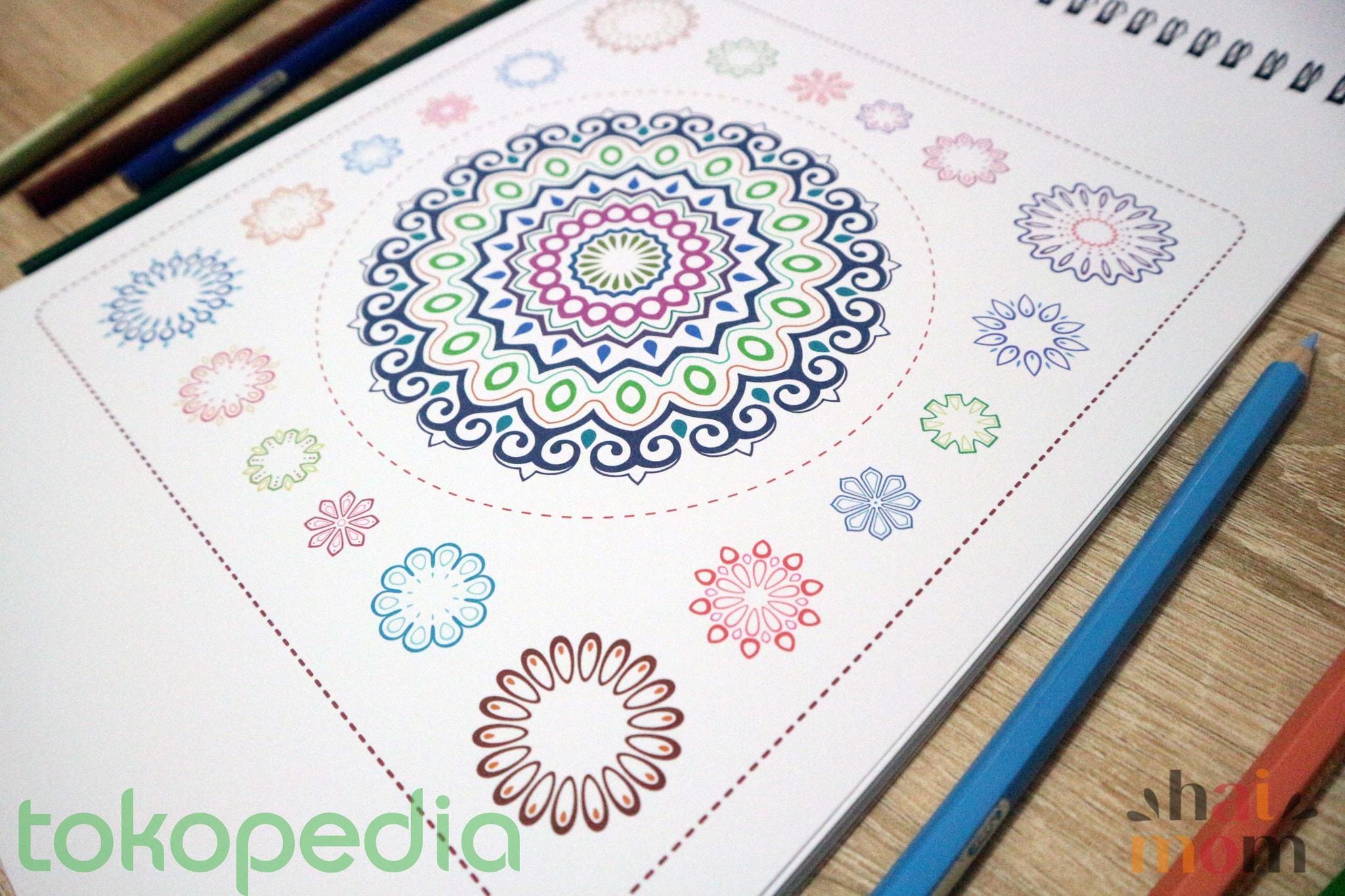 Coloring book untuk dewasa -  Colorzen Mewarnai Untuk Dewasa Coloring Book For Adults