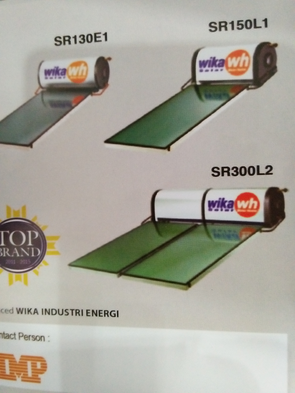 Jual Ewh Wika 150 Liter Solar Water Heater Matahari Dunia Bangunan Lxc Pemanas Air Tenaga Tokopedia