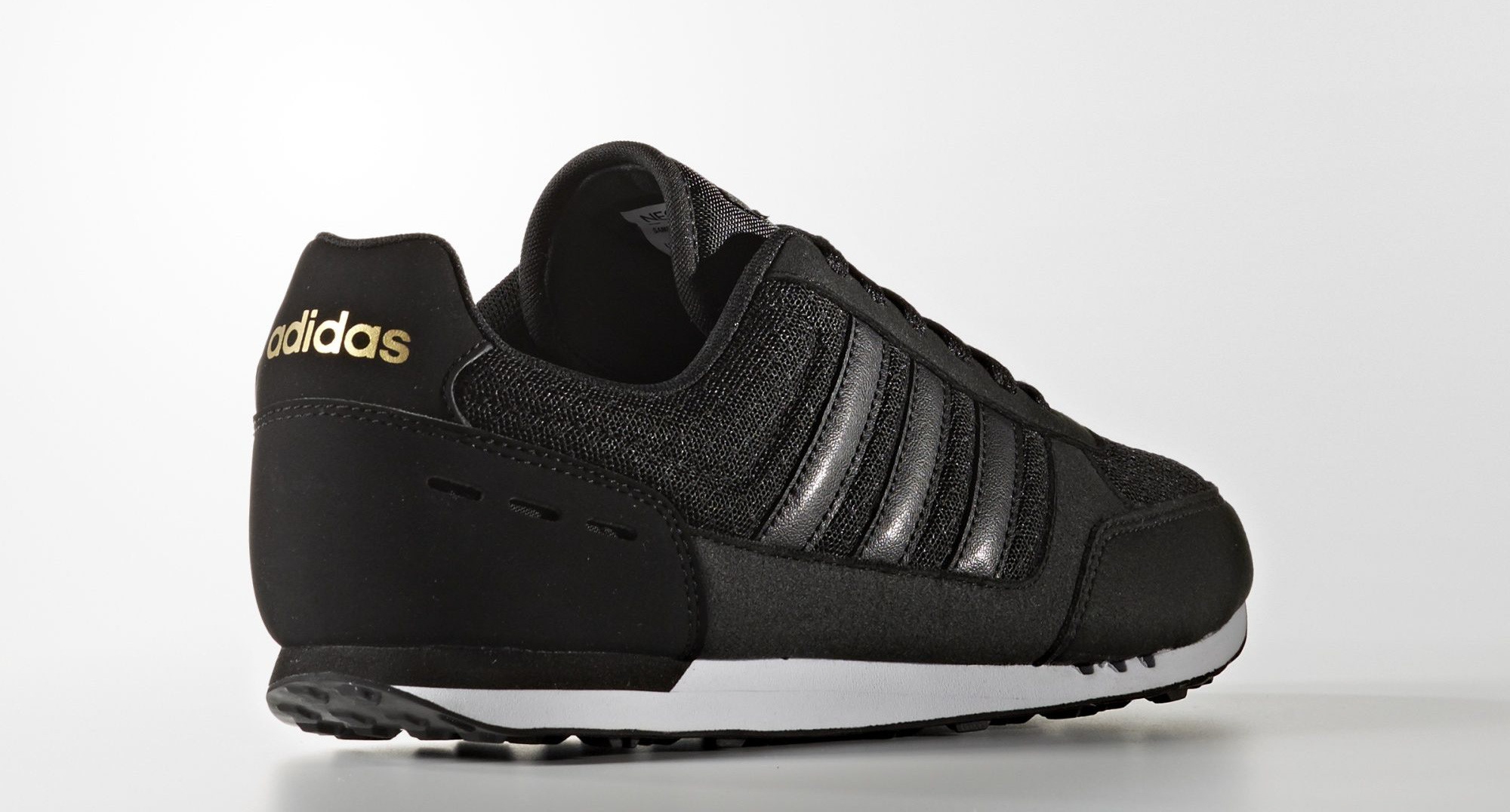 ... canada adidas neo city racer all black 1a0df ed891 1200c6668