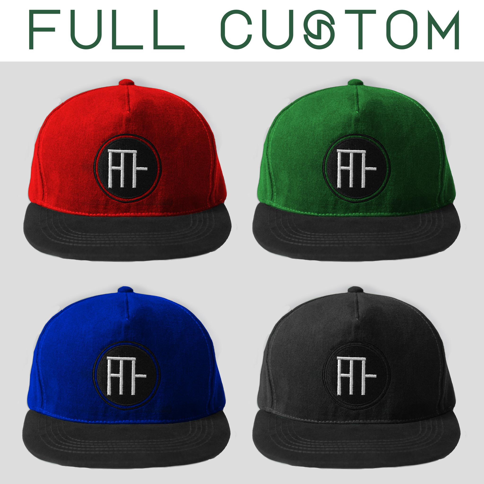 Jual Topi Custom Snapback Bordir Murah Design Sendiri Satuan Desain W Hit Hat Tokopedia
