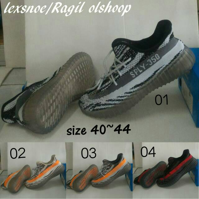 sepatu adidas yeezy SPLY-350 adidas slop sepatu gaul dan lifestyle