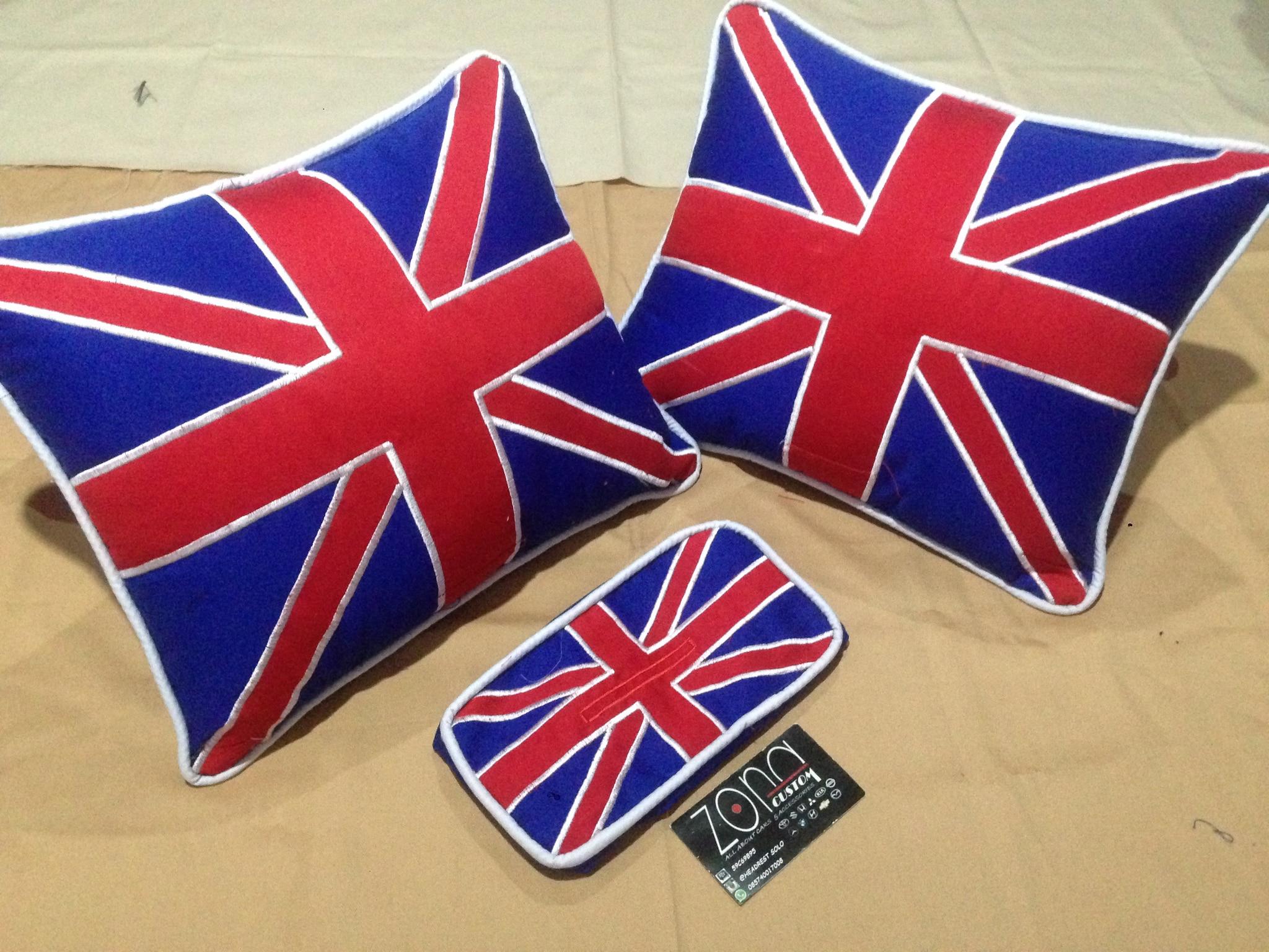 Jual Bantal Bendera Inggris England Sofa Murah Leher