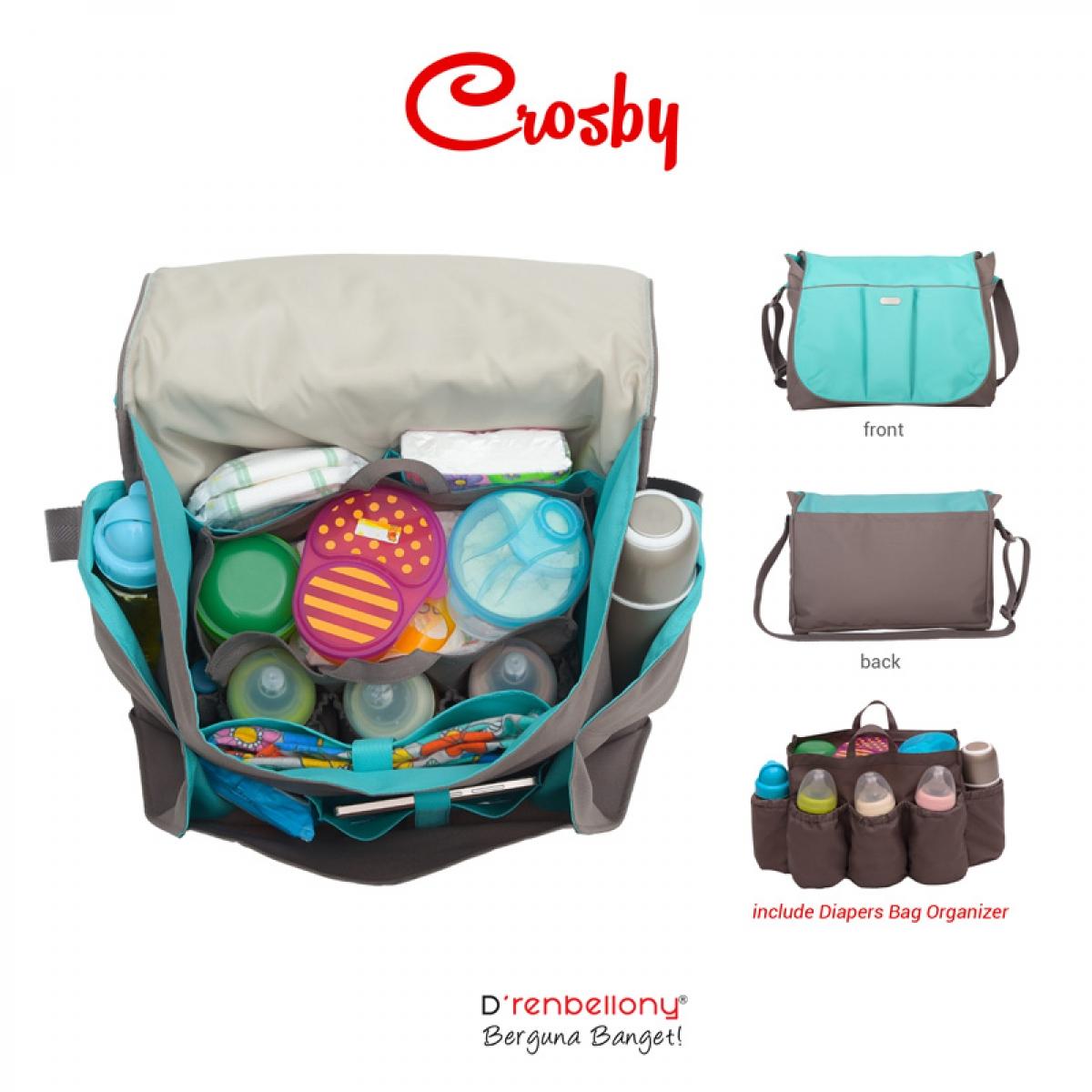 Tas Archives Page 4 Of 150 Dksh Fashionable Selempang Wanita Dkin 315 Crosby Baby Bag Drenbellony Perlengkapan Travel Mandi Bayi Balita Anak Diaper