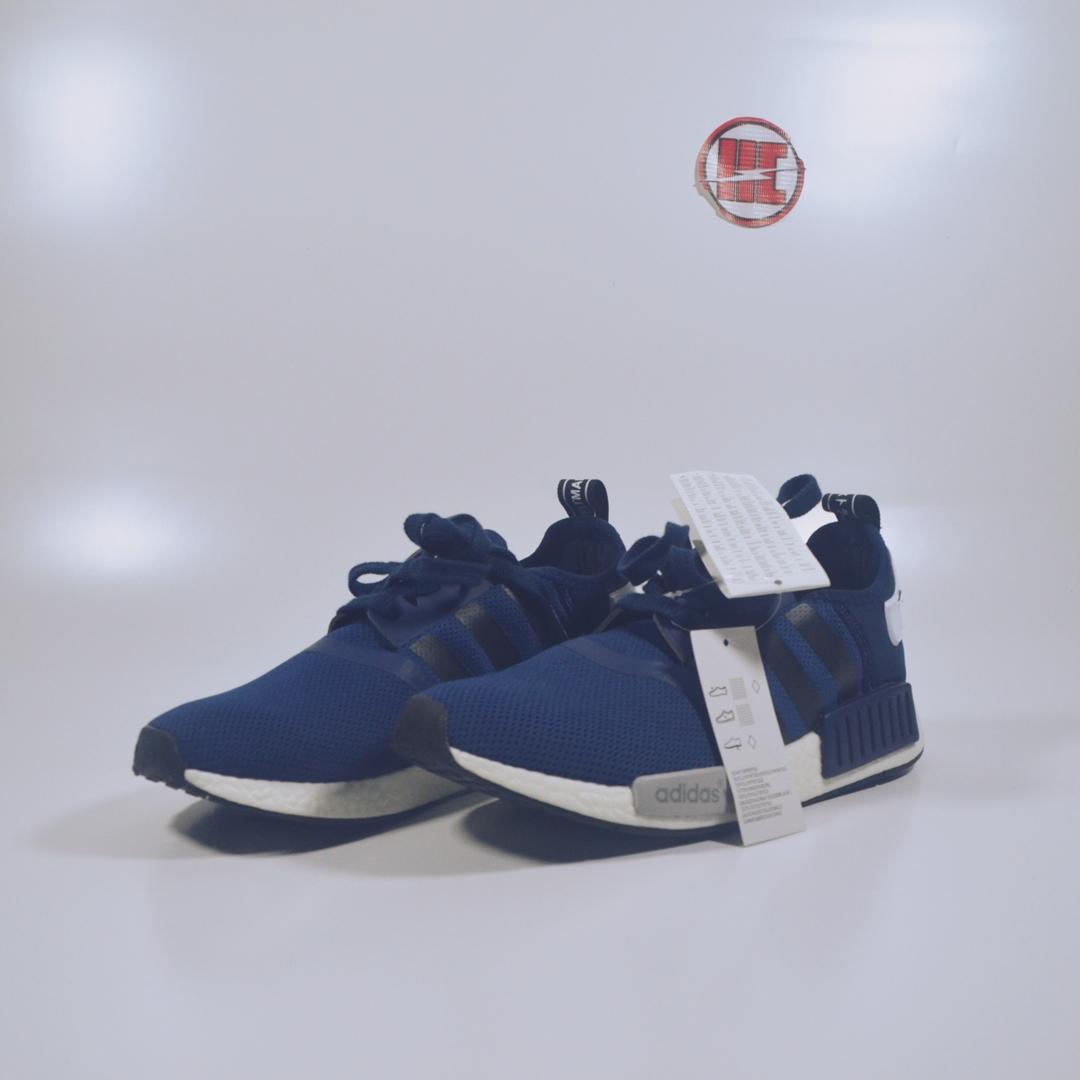 ... clearance sepatu adidas nmd runner pk navy blue premium original .  1a4f6 f79f2 09c42779ee