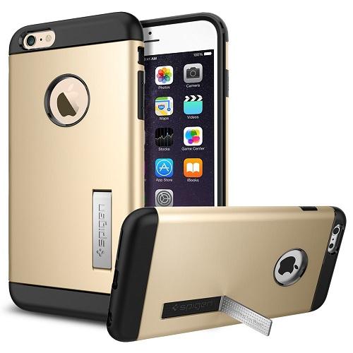 Spigen iPhone 6 Plus - 6S Plus Slim Armor Casing Case - Gold