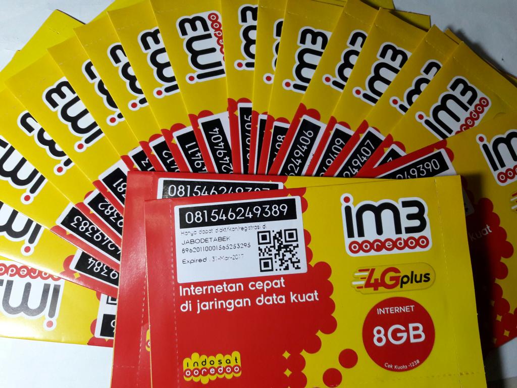 Harga Jual Kuota Indosat Im3 9gb Terbaru 2018 Perdana Internet 25gb 7 24jam 18gb Malam Kartu Ooredo 9 Gb 14 Mileniansa Store Tokopedia