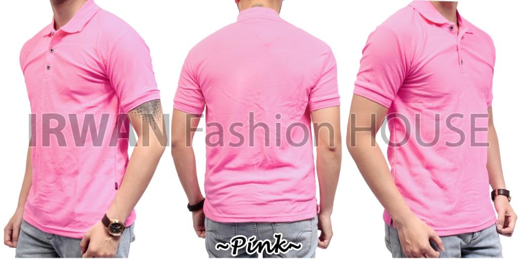 Jual Polo 2 Baju Kaos Pria Cowok Kerah Pendek Bahan Lacos