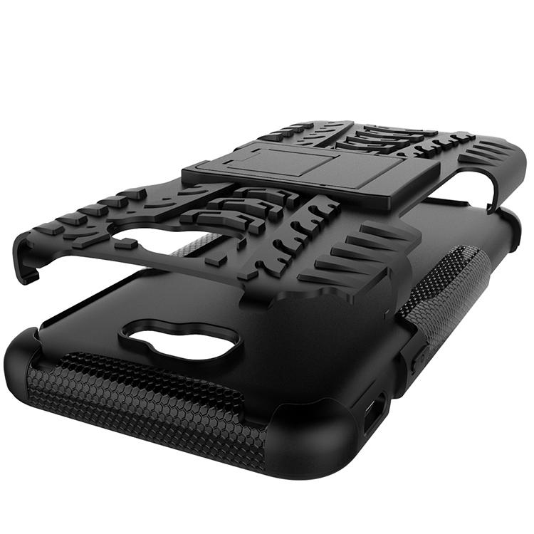 Samsung Galaxy A3 2017 Armor Case XPHASE 2 Soft Gel Case Stand
