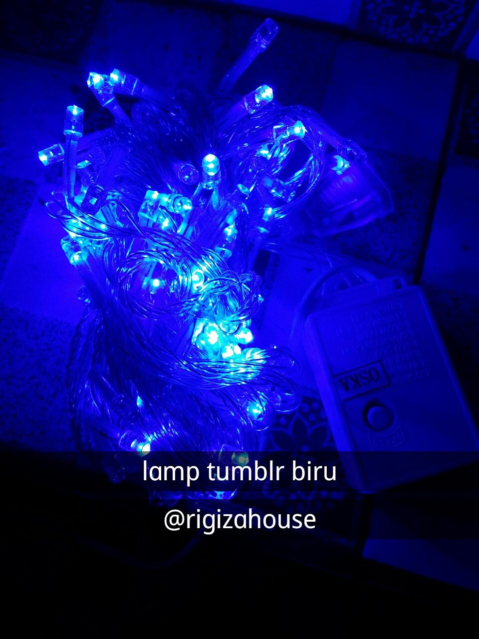 Kamar Tidur Anak Perempuan Tumblr Sobat Interior Rumah Lampu Tumbler Kelap Kelip Led Hias Jual Dekorasi Biru