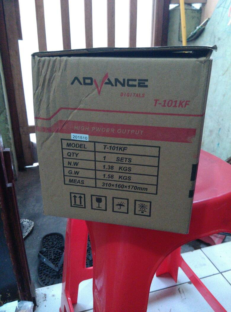 Jual Speaker Advance T 101kf Ac Dc Hi Fi Bass Power Amp Usb Fm Subwoofer Termu Center Acc Tokopedia
