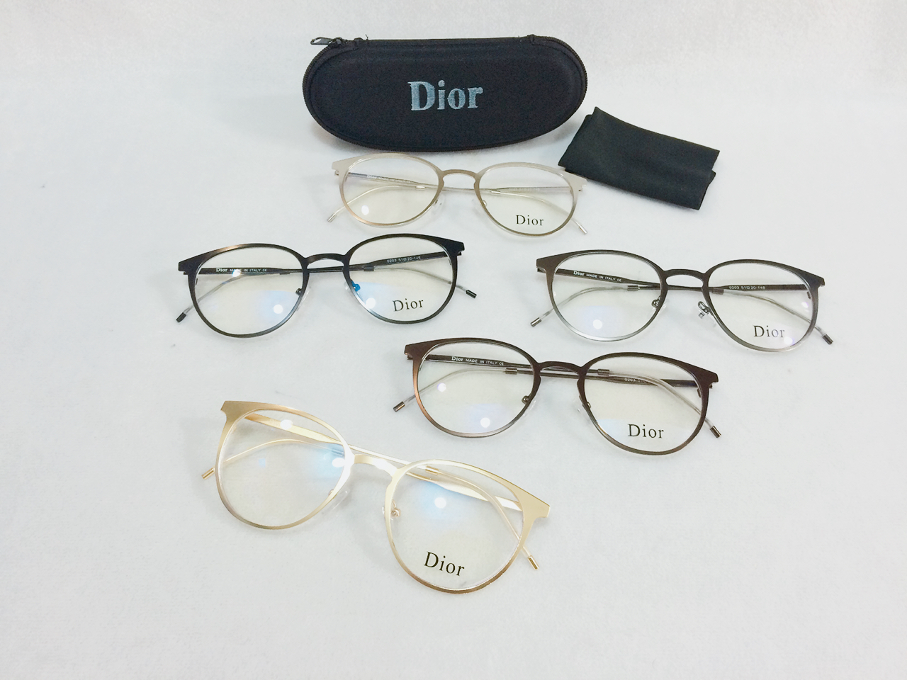 Jual BEST!! Frame Kacamata Minus Dior SM 0203 Wanita Pria Hi ... 86747f5a8c