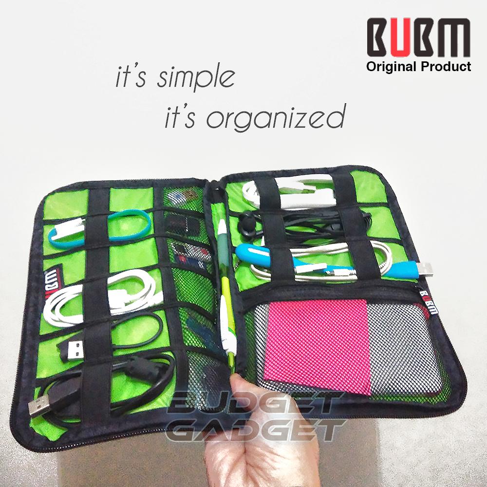 Jual Bubm Gadget Organizer Bag Portable Case Dis L Budgetgadget Tokopedia