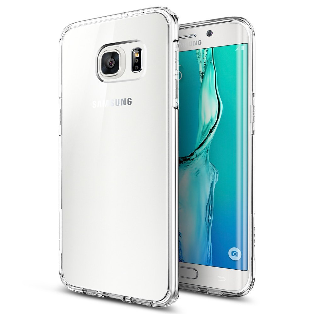 Spigen Samsung Galaxy S6 Edge Plus Ultra Hybrid Case - Crystal Clear